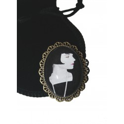 BROCHE CABOCHON LOUISE BROOKS DECIDELÀ
